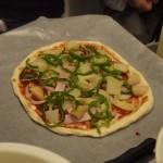 手作りピザの勇姿